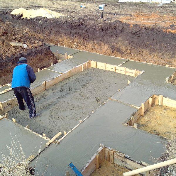 Прием бетона